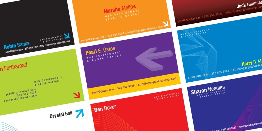Free business card templates Free Vector illustrator EPS