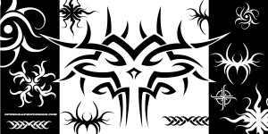Tribal art using vector graphics - part 2