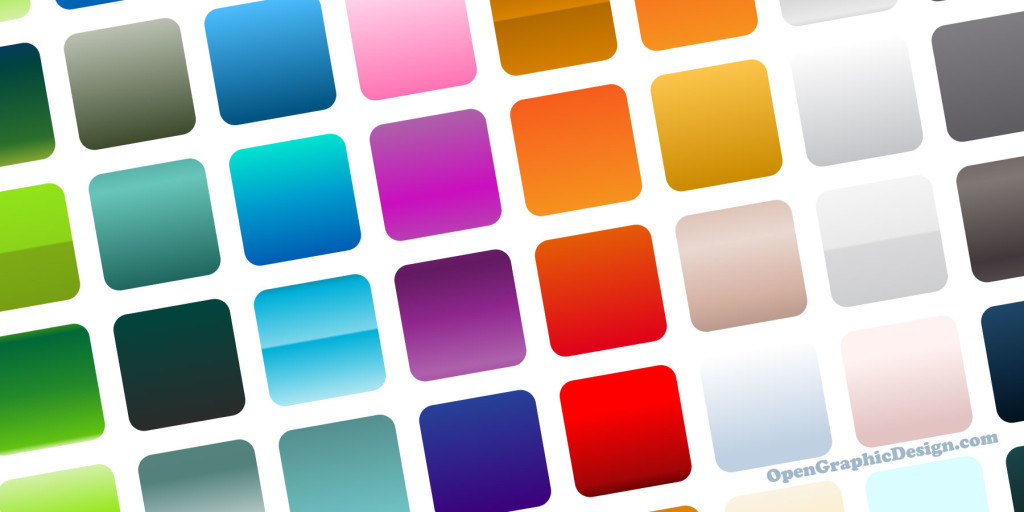 Colorful vector gradients - free graphics