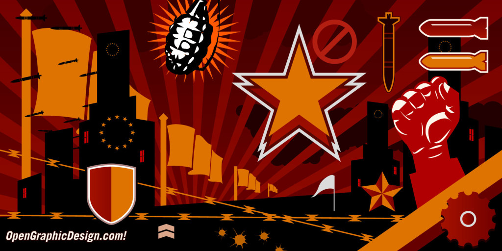 Propaganda Graphics - Free Vector Art