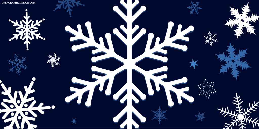 Vector Snowflakes - High Resolution Winter Graphics