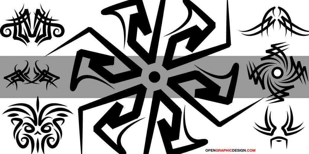 Tribal Art - High Resolution Vector Art
