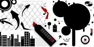 Urban Art - Grafitti - High Resolution Vector Art