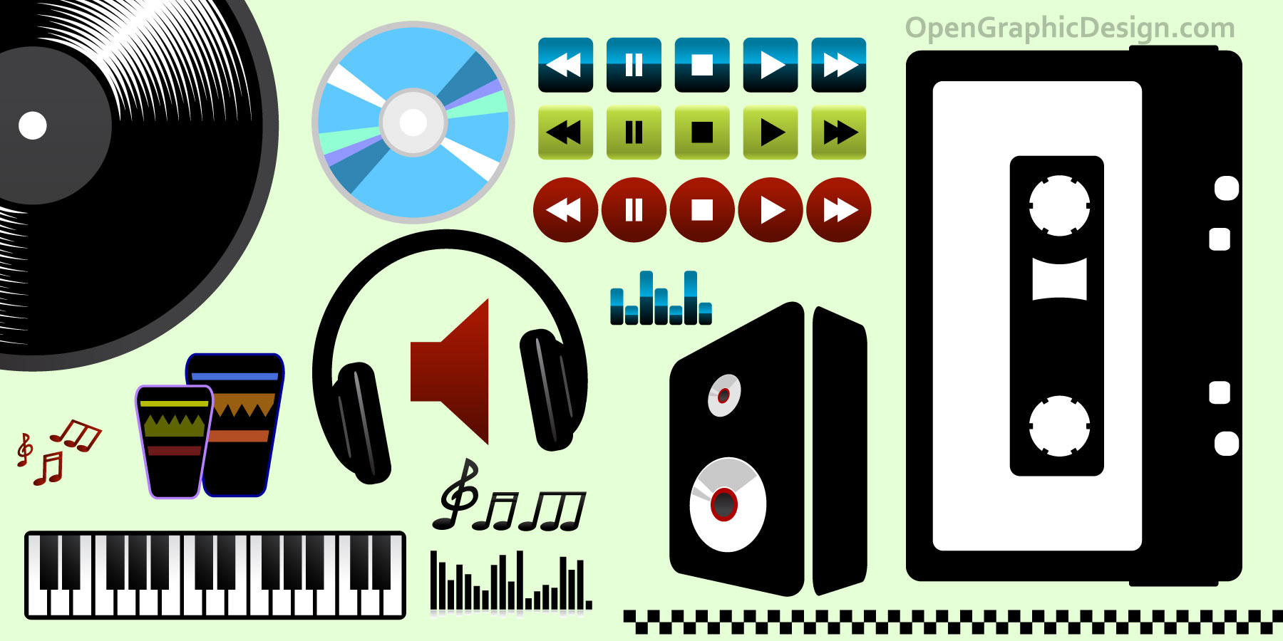 Free Vector Music Icon Graphics Download Free Vector