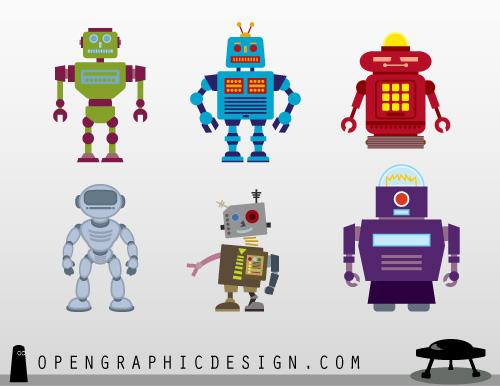Free Robot Printables
