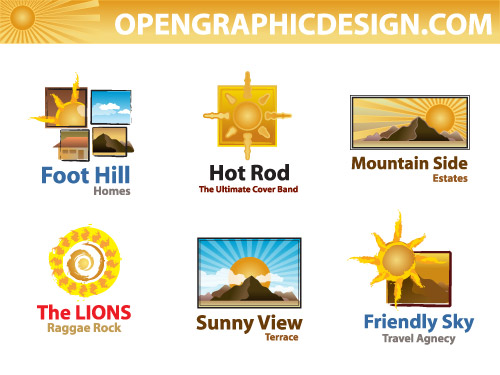 Sun Roller Logo Vector Download Pictures to pin on Pinterest
