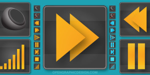 music-buttons-sound-player-vector-hires